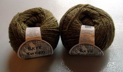 Skye Tweed Upland Green