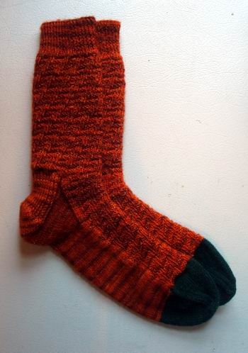 Pumpkin Escalator Socks