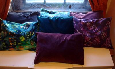 Buckwheat Hull and Lavender Pillows